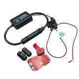 Gazechimp Universal Auto Automobil Arial Radio AM / FM-Signal 12V Antennenverstärker Booster für Fahrzeug KFZ Radio Autoradio
