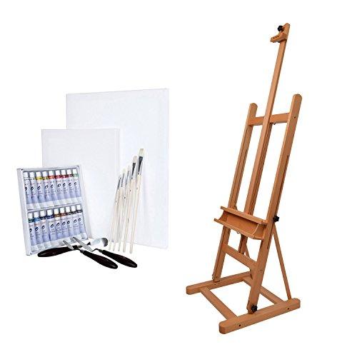 artina-chevalet-como-set-de-28-pieces-pour-peinture-a-lhuile