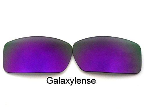 Galaxis Ersatzgläser für Oakley Gascan Lila Farbe Polarisiert.