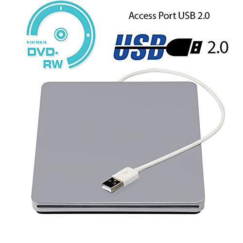 TONGTONG Externe Blu-ray-Laufwerke, USB 2.0-DVD-Laufwerk Optisches Laufwerk Externer CD-RW-Brenner DVD-ROM-Player für die meisten Notebook-Systeme (Blu-ray-writer-laufwerk)