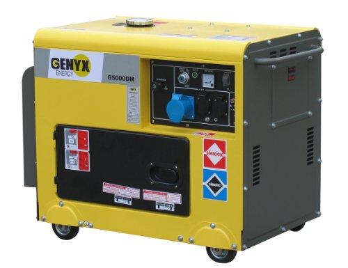 Genyx G5000DM-2 Groupe électrogène Diesel 5000 W