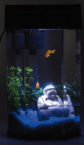 infactory Säulen-Panorama-Aquarium