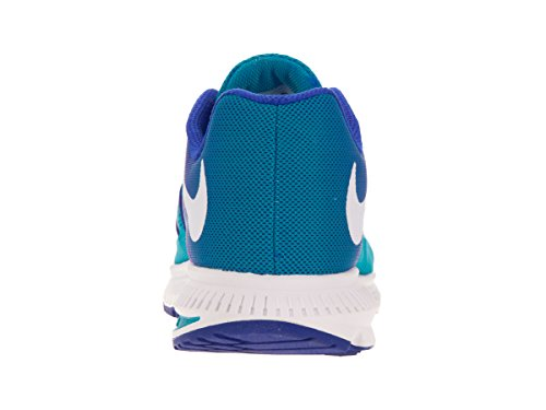 Nike Zoom Winflo 3 Synthétique Chaussure de Course Blue Glow-WHite-Racer Blue-White
