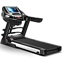Treadmill for Gym, Hydraulic Folding, Super Shock Absorption, Slope Adjustment, Heart Rate Test, Multifunctional With Massage