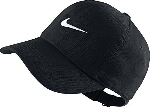 Nike Kinder Kappe Heritage 86 Swoosh, Black/White, One Size, 546178-010