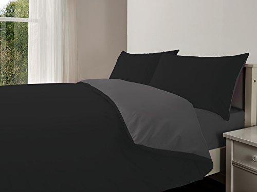 luxury-4pcs-complete-reversible-duvet-cover-fitted-sheetblack-grey-king