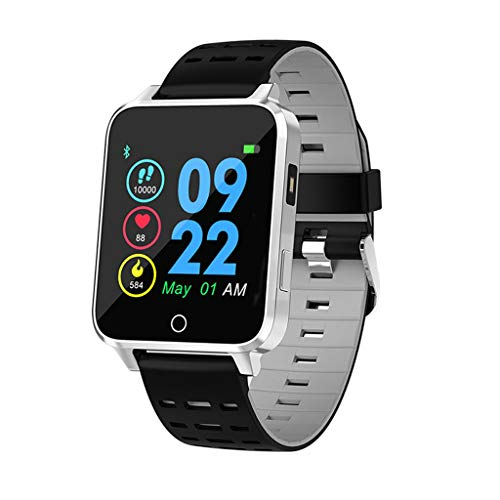 MObast Smartwatches Mode X9 IP68 1.54 Zoll TFT Activity Fitness Tracker Watch with Heart Rate Pedometer Sleep Stopwatch Remote Camera Music (Kreis-tracker)