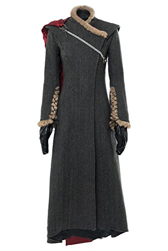 Dragon Kostüm Targaryen Daenerys - Daenerys Targaryen Dany Gown Dress Game of Thrones Season 7 Mother of Dragon Outfit Cosplay Kostüm M