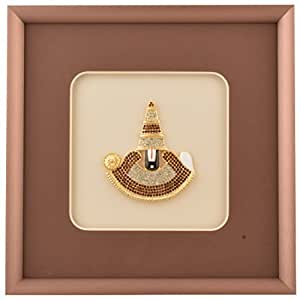 Forever Artifical Diamond Lord Balaji Wooden Frame
