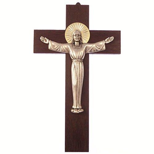 mur-en-bois-croix-suspendre-christ-ressuscit-203cm-20cm-en-mtal-cadeau-crucifix-en-bois