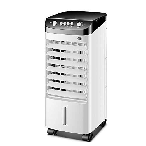 ZXIU Haushaltsventilator Einzelkühlung Wärme Mobilen Kleinen Klimaanlage Hause Leise Schnelle Kühlung 3 Geschwindigkeit Automatische Klinge -65 Watt Klimaanlage