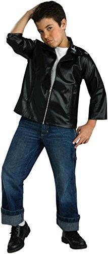 Forum Novelties Flirtin with The 50's Child Greaser Jacket, Medium