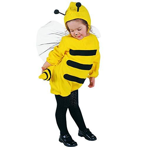 Costume vestito abito travestimento carnevale halloween cosplay bambina ape - 3600a