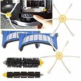 Pièce de rechange de vide de 6pcs pour Irobot Roomba 600 séries 620 630 650