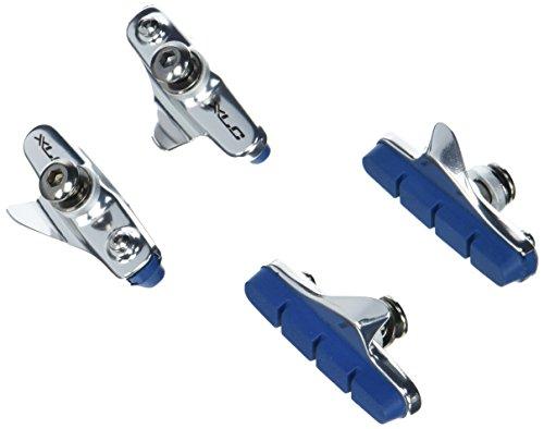 XLC Bremsschuhe Cartridge Road BR-R02 für Carbon 4er Set 55 mm, silber/Blau, 2500386050 Preisvergleich