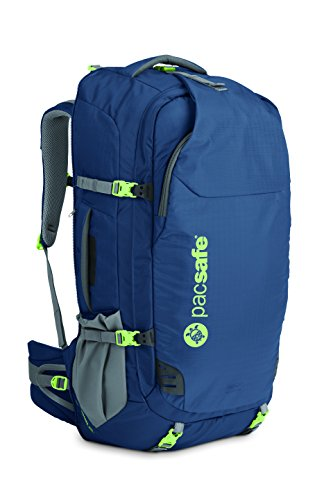 Pacsafe Venturesafe 65L GII Travel Pack, Navy Blue (blu) - 60360606
