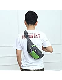 Fashion Multi-function Men Outdoor Sports Running Adjustable Breathable Waist Bag (Green)