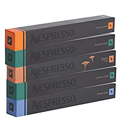 Nespresso Lungo-set, Vivalto Linizio Fortissio Bukeela, 50 Kapseln