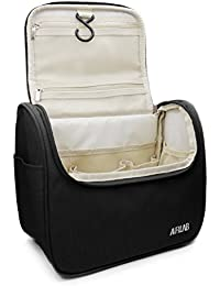 Trousse sac trousse de toilette cosmétiques, avec crochet et poignée, taille: 24 x 19,5 x 12,5 cm