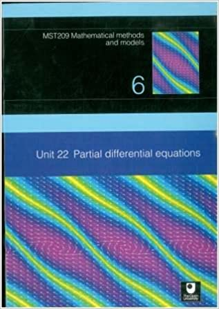 Partial Differential Equations: Unit 22