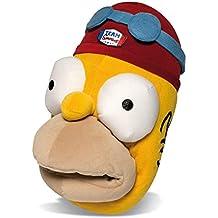 SAMs Plüsch Tier Hausschuhe DIE SIMPSONS Homer Simpson Puschen Schlappen Pantoffel Herren 36-46 Qualität, TH-Simpsons-Homer
