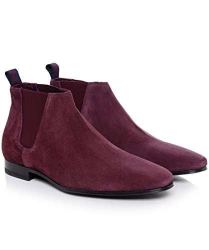 PS by Paul Smith Hommes Bottes en daim Marlowe Chelsea Purple purple