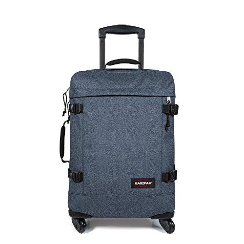 Eastpak Trans4 S Koffer, 54 cm, 44 L, Bonded Blue Double Denim
