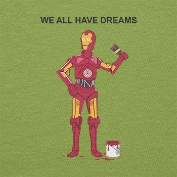 Texlab–We All Have Dreams–sacchetto di stoffa Verde chiaro