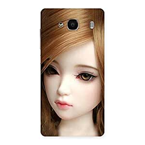 Lovely Doll Multicolor Back Case Cover for Redmi 2s