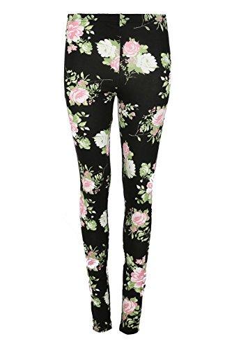Be Jealous - Legging - Sans Manche - Femme * taille unique Black Pink Rose