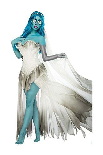 Corpse Bride Komplettset von Mask Paradise (Bride Sexy Corpse Kostüme)