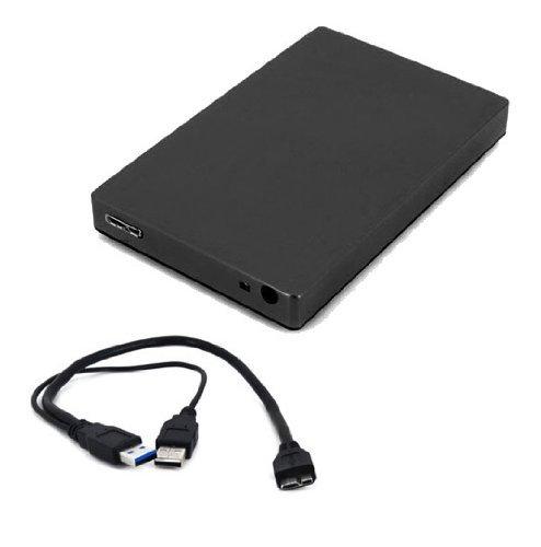"2.5"" Cavalry EN-CAU3G-TB SuperSpeed USB 3.0 External SATA HDD Enclosure Supports up to 2TB!(usb 3.0 case,usb 2.0 case,supports upto 2tb,it supports all brands like wd,seagate,samsung,hitachi,toshiba)"