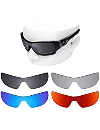 918651acb2 OOWLIT 4 Pair Replacement Sunglass Lenses for Oakley Offshoot POLARIZED
