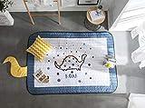 Baobe Baby Play Mat Cotton, Non-Slip Non-Toxic Super Large 145cm*195cm*2.5cm Washable Colorful Animals