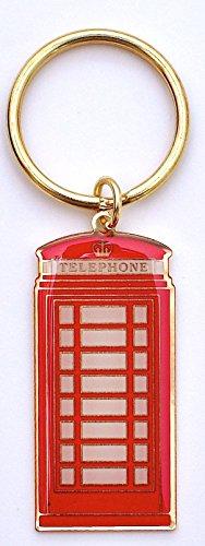 London Telefon Box Keyring - London Telefonzelle Keyring Rot - London Andenken Keyring - rote Telefonzelle - Phone Box - Red London Telefon Box Key Chain + kostenlose London - ich liebe London Souvenir-Schlüsselanhänger / FLIP FLOP / Schlüsselanhänger für das London-Eye - Big Ben & London Bridge Keyring / THONG LONDON MEMORABILIA Schlüsselanhänger - I Love London Schlüsselanhänger - Telefonzelle Telefon
