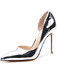 Silber Spitze Toe High Heels Sommer Bequeme Sandalen Mode Sexy