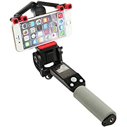 Wansong automazione rotazione selfie stick–360gradi di angolo regolabile, autoritratto monopiede allungabile wireless Bluetooth, supporto per telefono regolabile per iPhone 655S, iPhone 6s 6Plus, Android