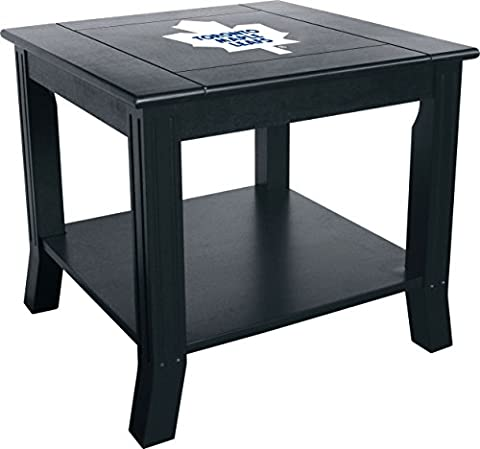 Imperial Officially Licensed NHL Furniture: Hardwood Side/End Table, Toronto Maple Leafs
