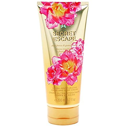 Victoria Secret's Secret Escape Hand and Body Cream 200ml/6.7 fl oz by Victoria's Secret
