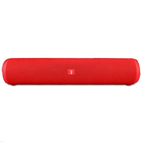 Bluetooth-Lautsprecher Wireless Subwoofer 10W Wireless Lautsprecher 1800 mAh, Red