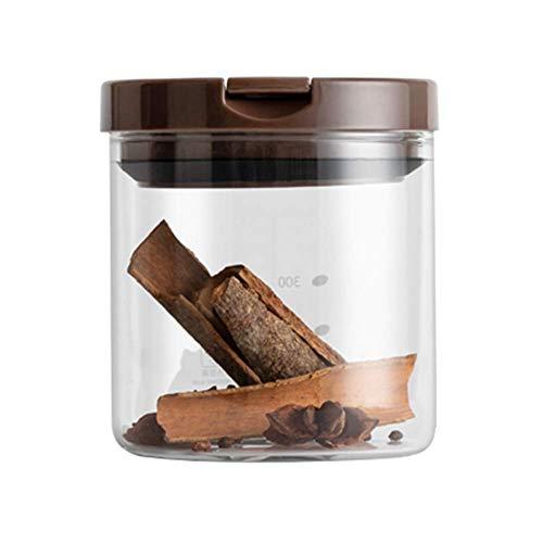 L.TSA Großes Glas, Kaffeebohnenbehälter, Lebensmittelbehälter