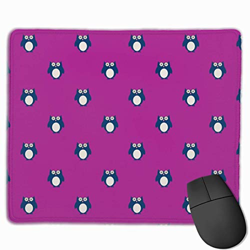 Deglogse Gaming-Mauspad-Matte, Smooth Mouse Pad Owl Penguin Mobile Gaming Mousepad Work Mouse Pad Office Pad (Sinken 24-schürze)