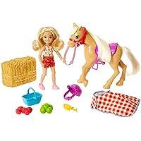 Barbie- Playset di Fattoria Sweet Orchad, Bambola Chelsea con Pony e Accessori, Giocattolo per Bambini 3+ Anni, GFF50