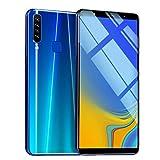 Fulltime E-Gadget Smartphone, Acht Kerne 6,1 Zoll Doppel-HDCamera Smartphone Android 8.1 LCD 1G RAM + 16GB ROM Touchscreen Kamera 800w + 1600w WiFi Bluetooth GPS 3G Anruf-Handy (Blau)