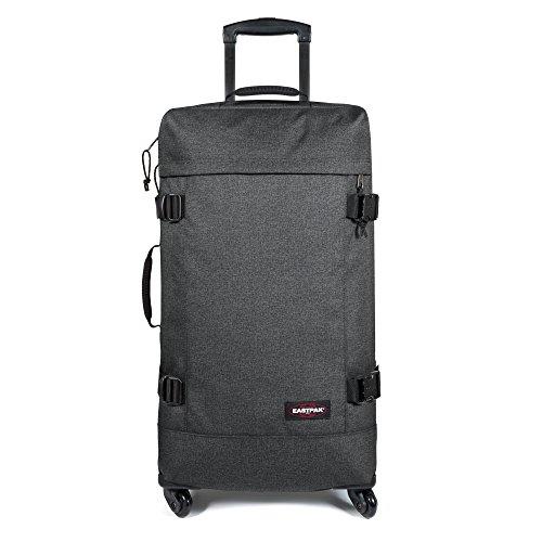 Eastpak Trans4 L Koffer, 75 cm, 80 L, Schwarz (Vorgängermodell) Black Denim