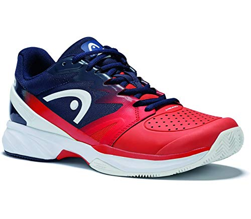 Head Sprint Pro 2.0 Clay Tennisschuhe Herren, Red-Black Iris (43 - UK 9)