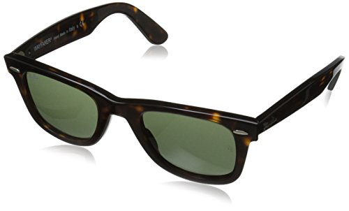 ray-ban-original-wayfarer-gafas-de-sol-unisex-color-tortoise-frame-with-crystal-green-lens-talla-22-