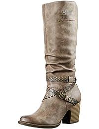 s.Oliver 25617 - Botas altas con tacón para mujer
