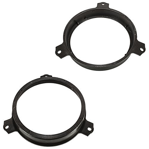 Baseline Connect Adaptateur d'enceinte pour Citroen c1/Peugeot couronnes à polir, 108, Toyota aygo modèles à partir de 2014, 165 mm