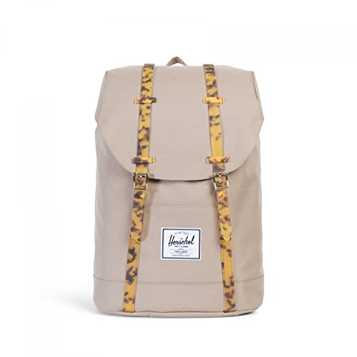 Little America Backpack brindle-tortoise shell rubber